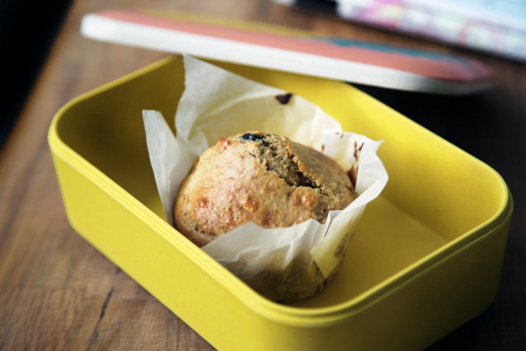 pranzo a lavoro dolci e muffin