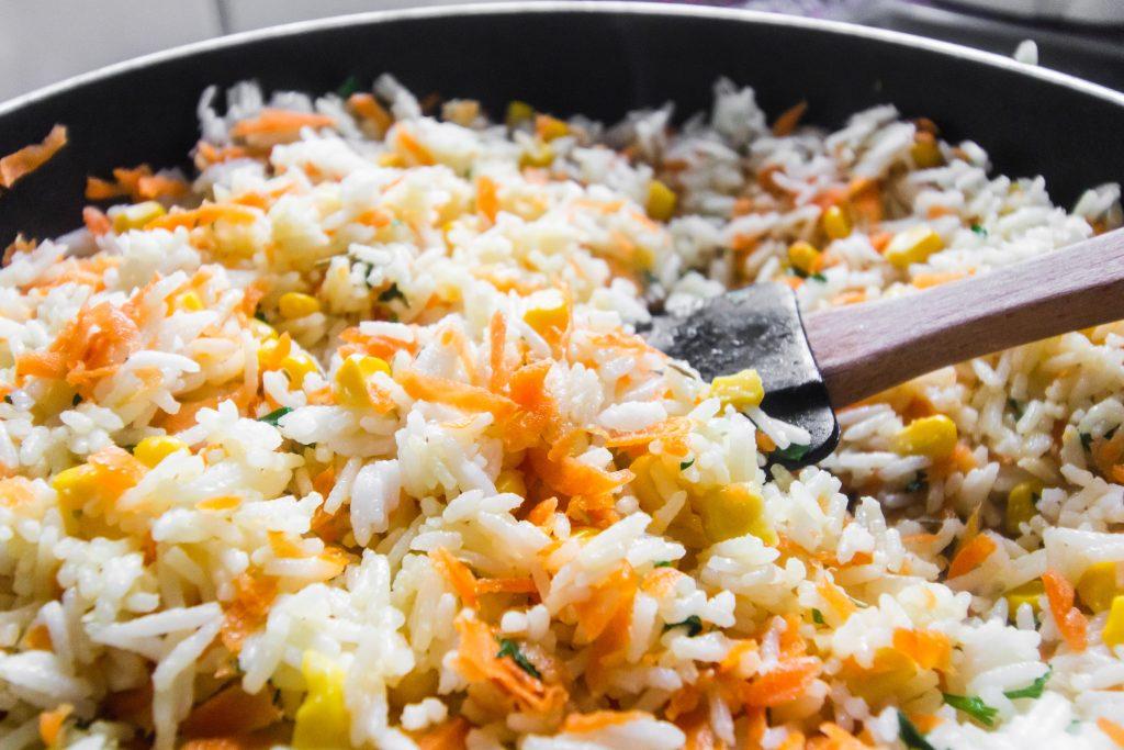 pranzo a lavoro insalata di riso